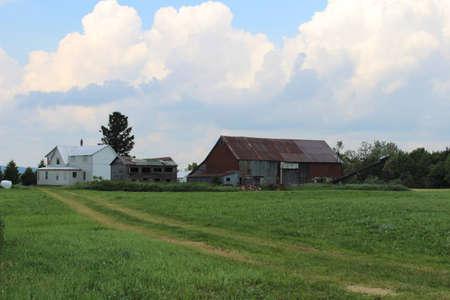 run down: run down old farm