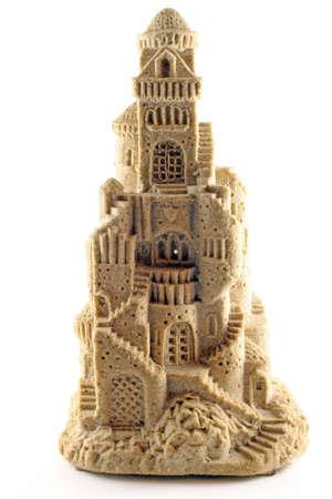 sand castle: sand castle statue