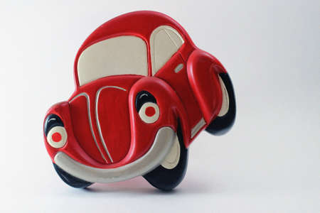 red toy car photo