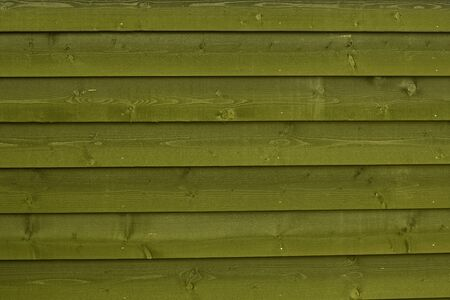Natural colors green wood background pattern horizontal wooden planks