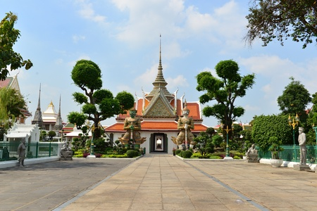 wat arun: Wat Arun,Thailand Stock Photo