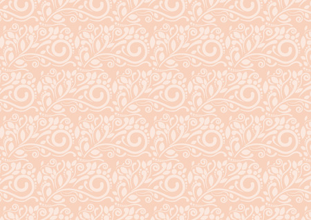 flora: Sweet Flora abstract retro pattern background