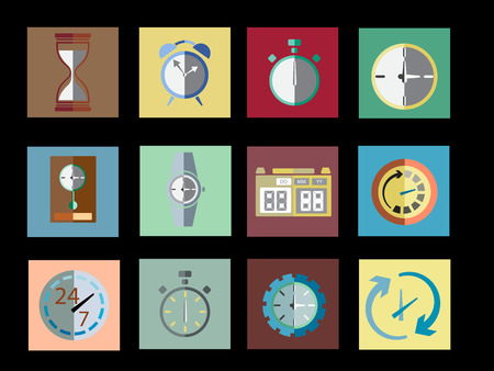 Timer Set Icon Vector Illustration Vector