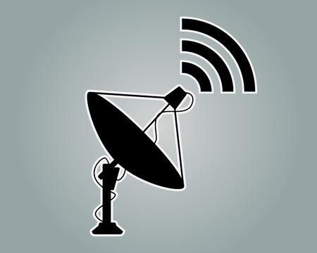 Satellite Dishes Icon Symbol