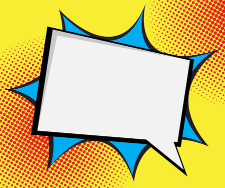 comic: speech bubble pop art,comic book background vector illustration