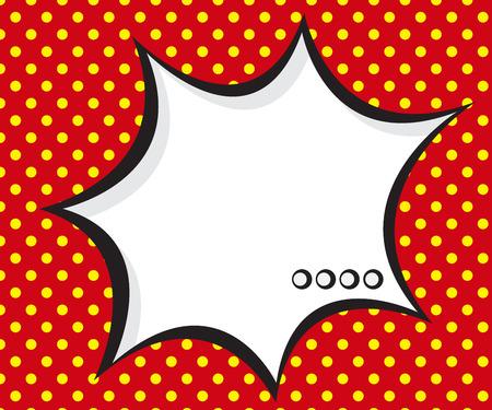 book background: speech bubble pop art,comic book background vector illustration