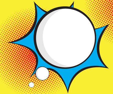 burst background: speech bubble pop art,comic book background vector illustration