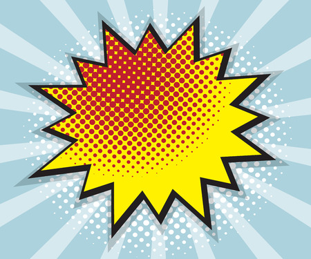 pop art, comic book, comic background, speech bubble comic vector illustration