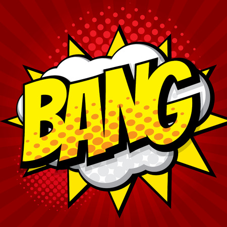 bang: bang pop art, comic book background