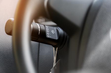 Wischergeschwindigkeit Control Stick hinter Lenkrad in Auto