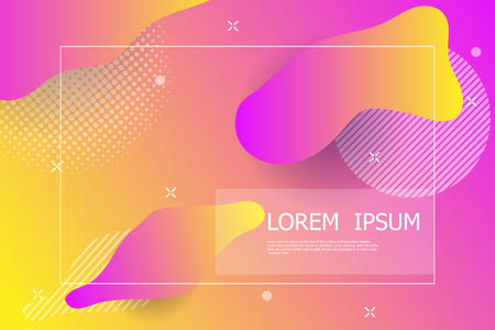 abstract colorful gradient background vector illustration