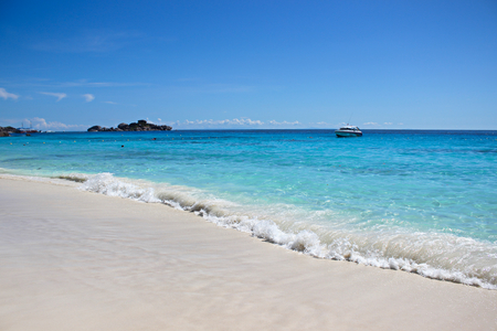 similan islands: Beautiful sea and beach Similan Islands. Stock Photo