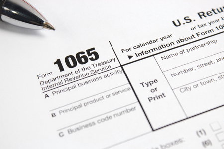 taxation: US tax form   taxation concept