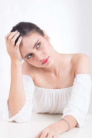 Stressed women unemployed