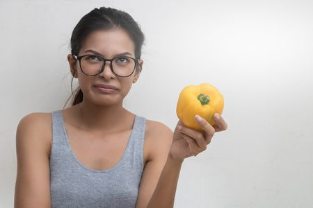 Asian women do not like to eat fruits and vegetables.