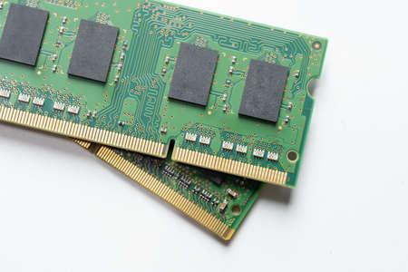 RAM memory module DDR4 DDR3 DDR2 DDR 免版税图像