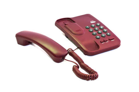 Office phone or home phone use to communicate with people who live away from us. Stock Photo - 8899642