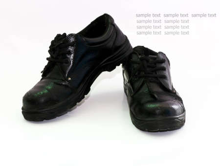 safety shoes: Safety shoes to prevent accidents to the person wearing the body.
