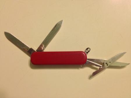 pocket: Pocket size knife  Stock Photo