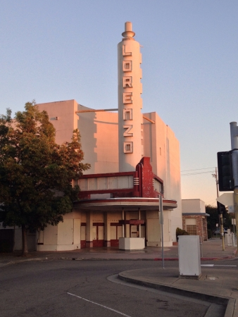 An old closed down theater