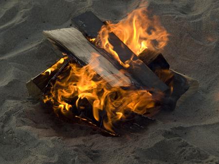 fire pit: Beach Fire Pit