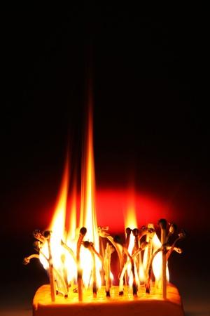 Fire matches Фото со стока