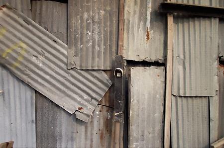 zinc: Zinc wall
