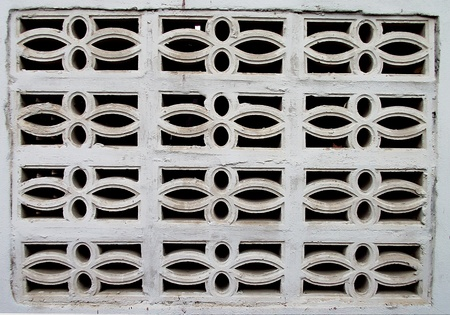 orificio nasal: espir�culo en la pared de su casa