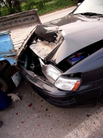 coche antiguo: Atropellado por un coche