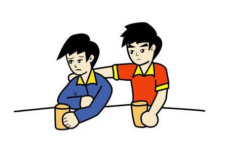 friend cartoon