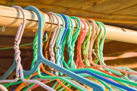 Kleurrijke hangers