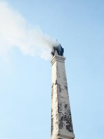 smokestack: Smokestack crematory