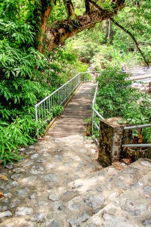 nang: Boardwalk at Nang Rong