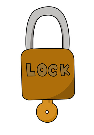 cartoon padlocks