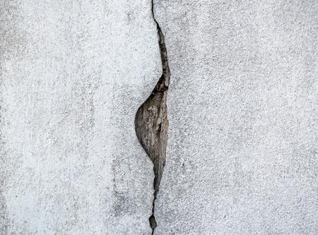 crack: Cracks of cement Stock Photo