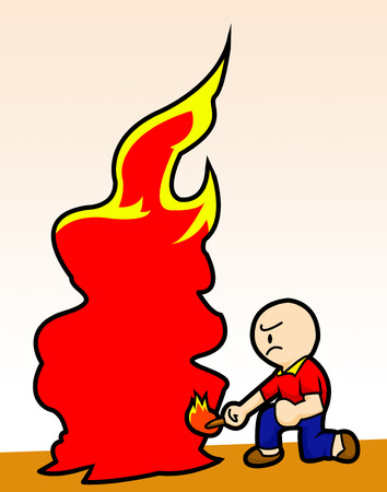 malign: the arson man