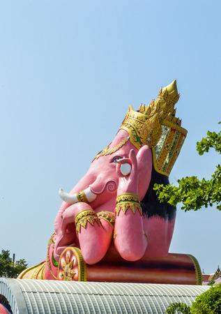 Ganesha statue in chachoengsao, thailand