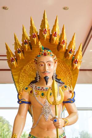 Phaya Naga deities