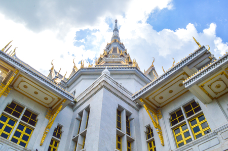 chachoengsao: Sotorn temple in chachoengsao, thailand