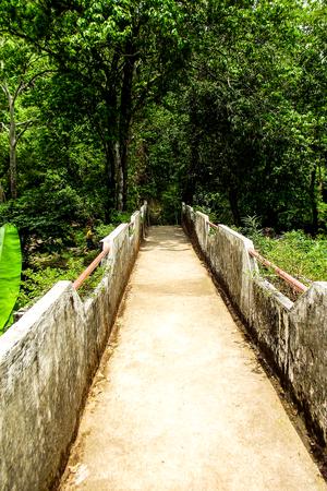 nang: walkway at Nang Rong  Stock Photo