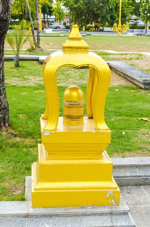Street lamp in sotorn temple 版權商用圖片