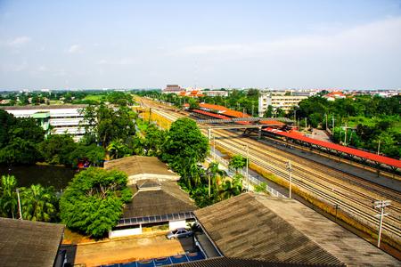 view Hua-ta-kae train station