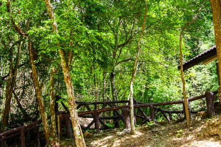 kanchanaburi: Erawan waterfall at Kanchanaburi