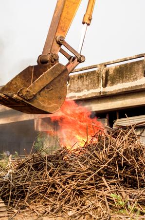 loader: art hand heavy excavator loader