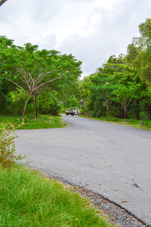 chachoengsao: road in country side, Chachoengsao, Thailand