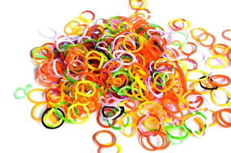 A group of rubber bands  photo