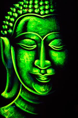 buddha image: Drawing buddhism on fabric boutique