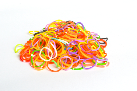 A group of rubber bands