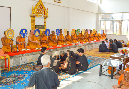 chachoengsao: Chachoengsao Thailand - August 4, 2014 Editorial photo of Buddhist ceremonies