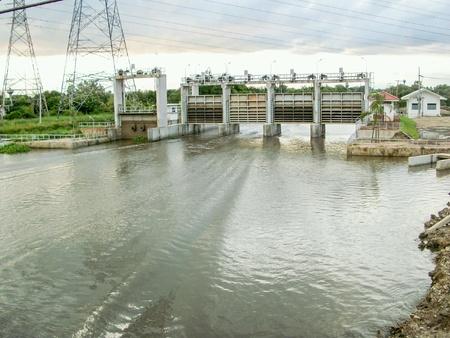 industrial: Preng dam in Thailand